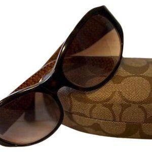 Coach Tortoise Suzie  Sunglasses